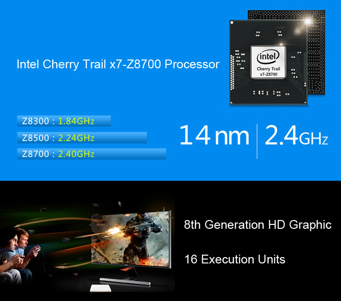 Voyo V3 - Intel Cherry Trail X7-Z8700