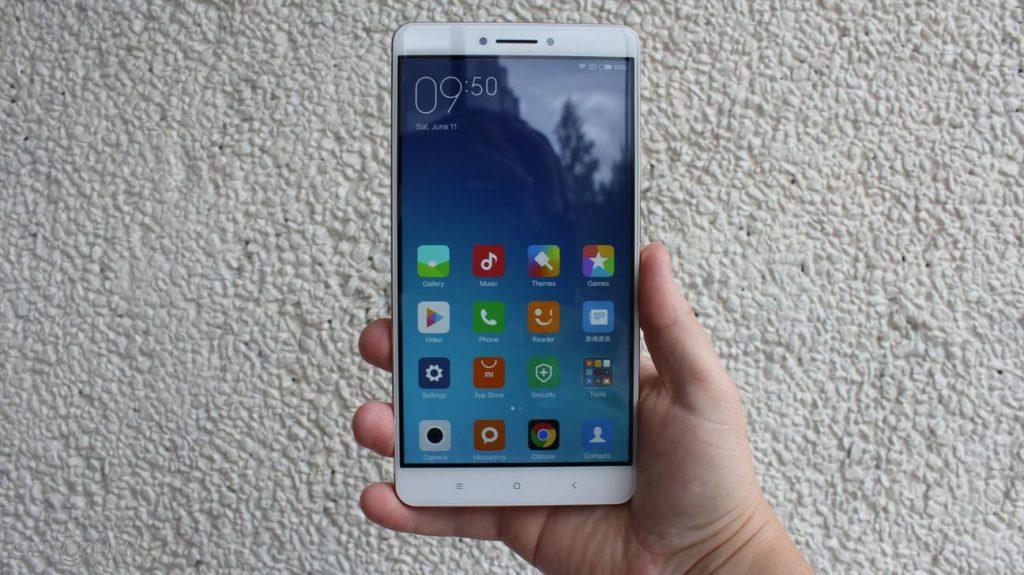Xiaomi Mi Max 2GB - en mains