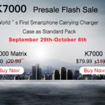 Précommande Oukitel K7000 à 72€ Tomtop