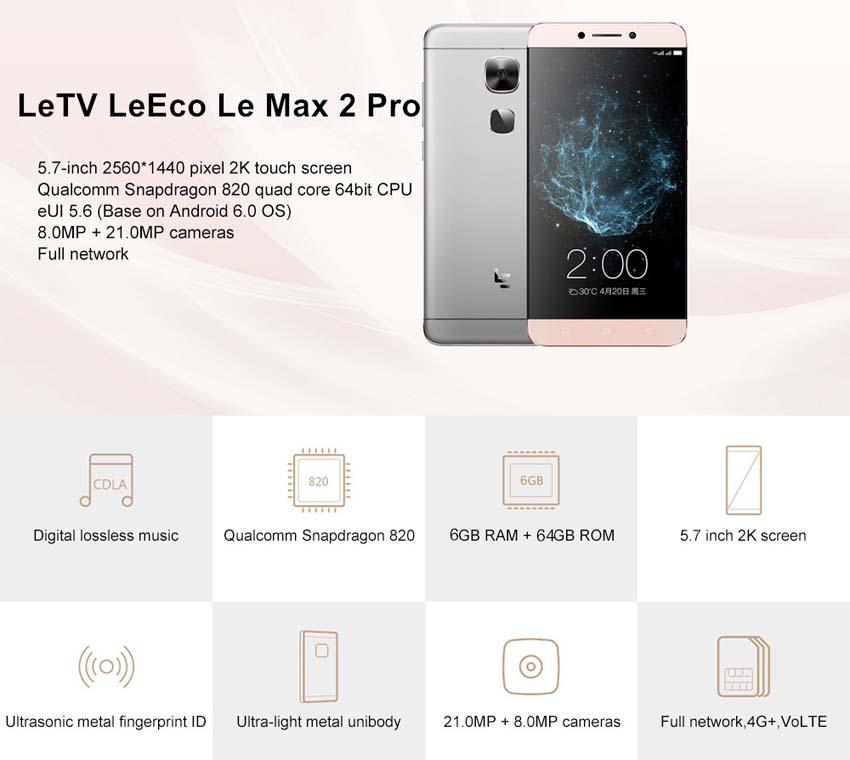 Test LeEco Le Max 2