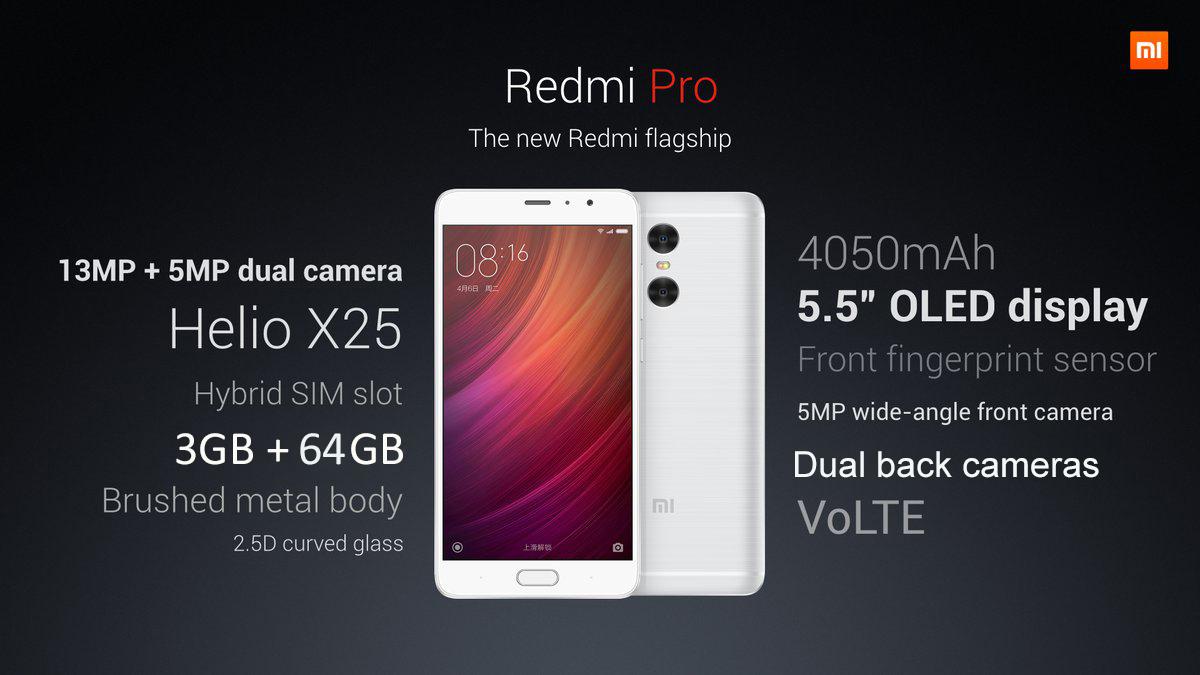 Test Xiaomi Redmi Pro