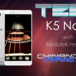 Test Lenovo K5 Note pour Gearbest sur YouTube