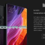 Précommande Xiaomi Mi Mix et Mi Note 2 Gearbest