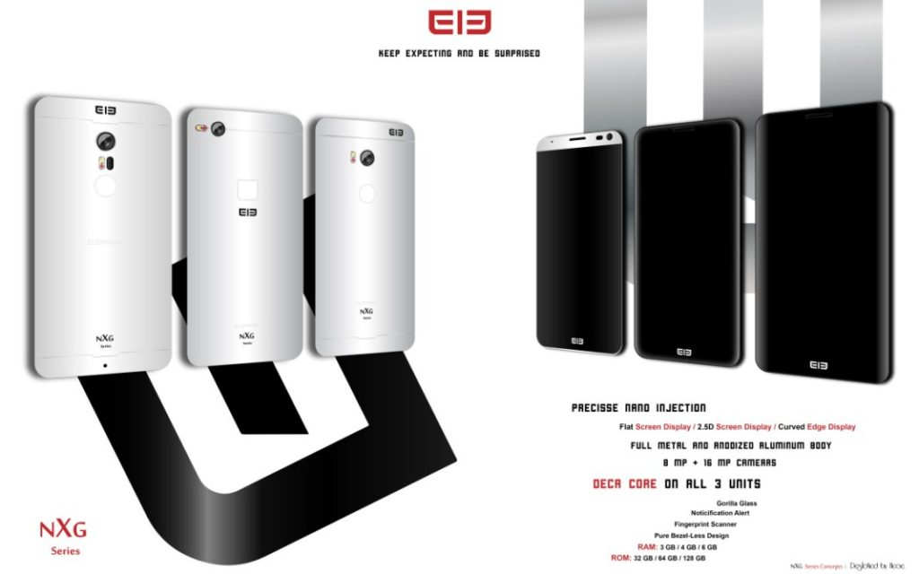 Elephone NXG Concept specs