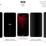 Elephone NXG voici la série Concept borderless