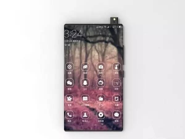 Xiaomi Mi Mix 2 de face
