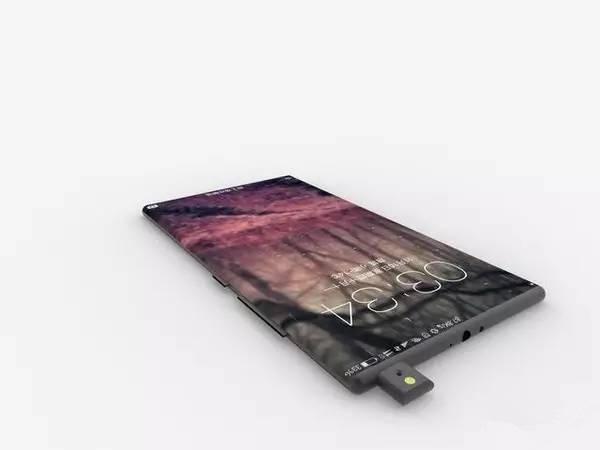 Xiaomi Mi Mix 2 du dessus