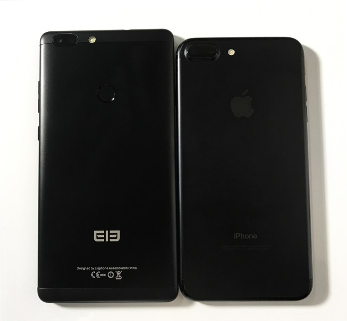 ElePhone C1 Max feat Iphone 2