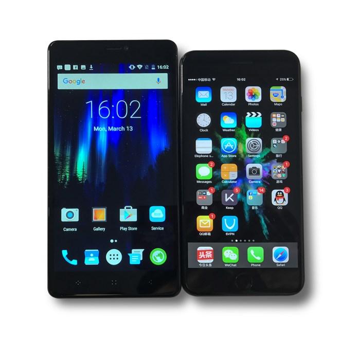 ElePhone C1 Max feat Iphone