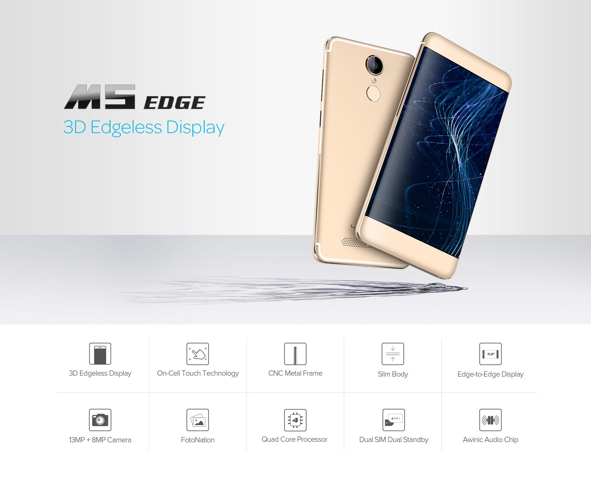 Leagoo M5 Edge