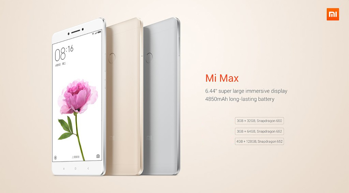 Deal du jour Xiaomi Mi Max