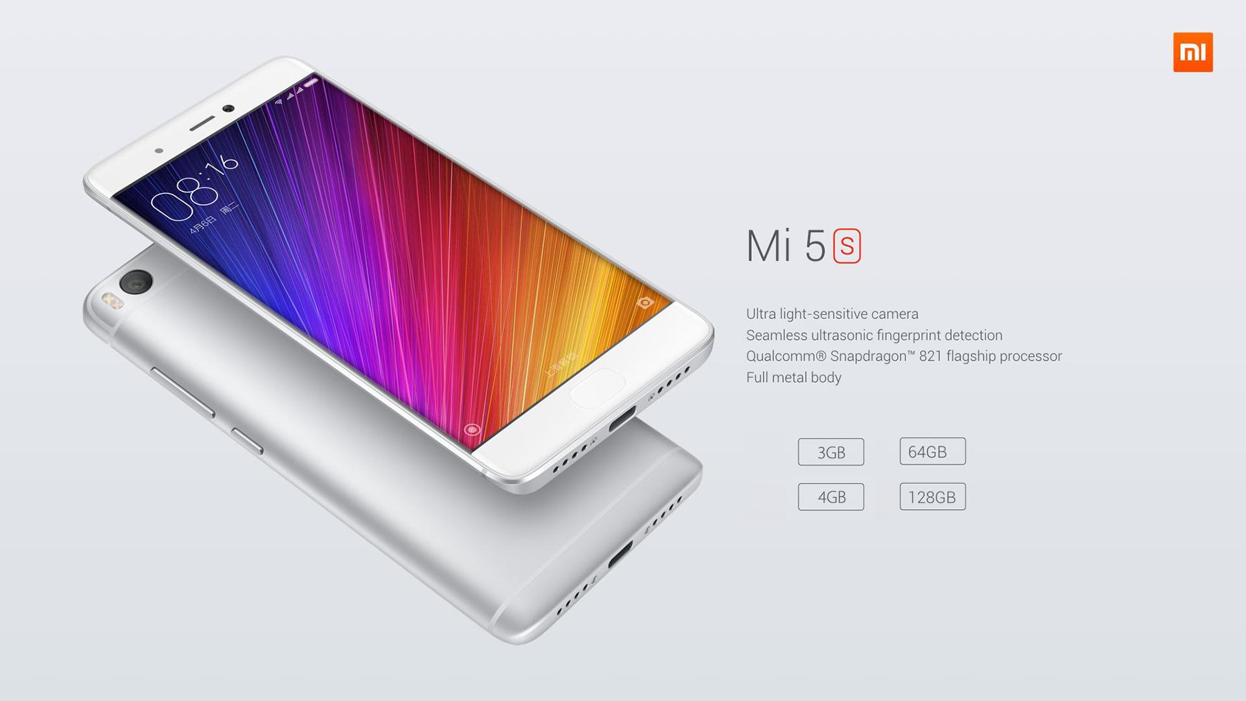 Deal du jour Xiaomi Mi5S