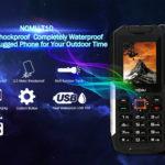 NOMU T10 robustesse IP68 et reverse charging