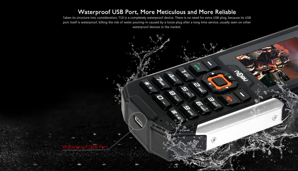NOMU T10 Waterpoof USB