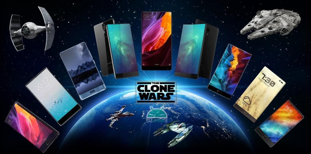 clone Xiaomi Mi Mix à la une