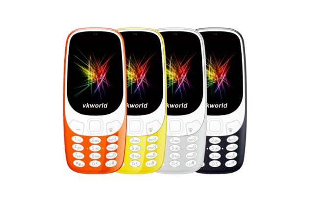 Vkworld Z3310 coloris