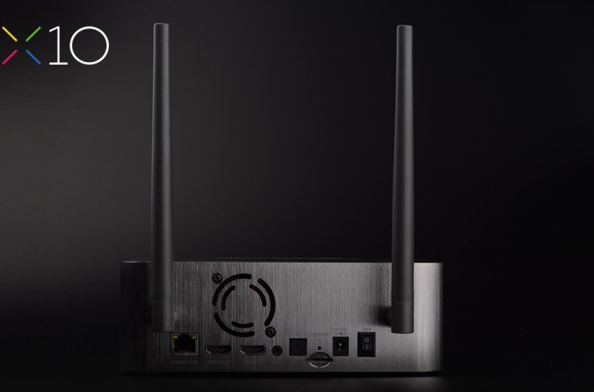 Zidoo X10 connectique