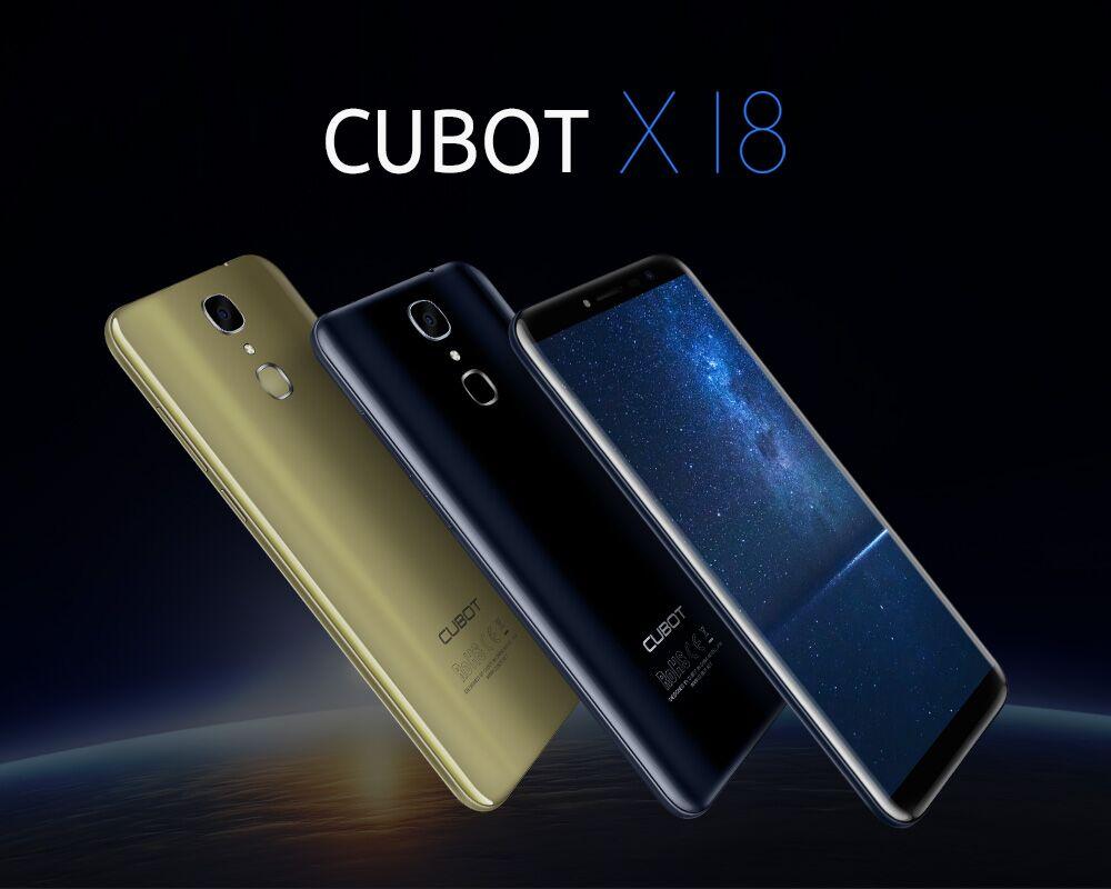 Cubot X18 coloris