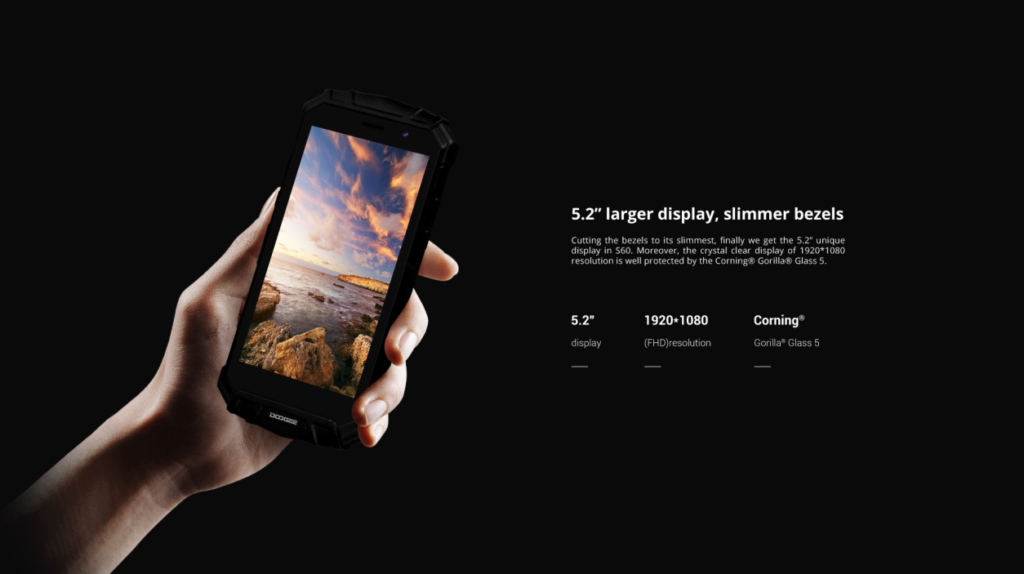Doogee S60 Display