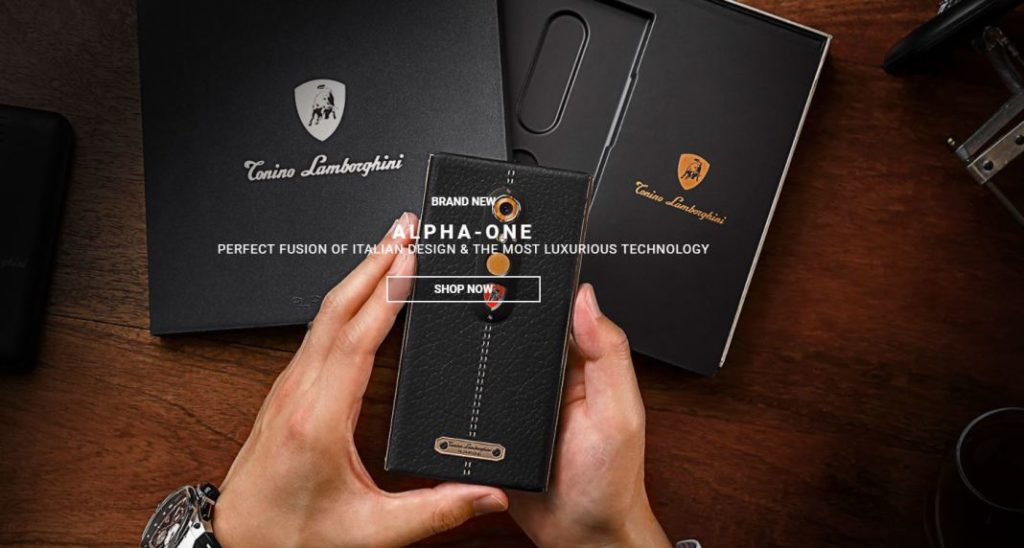 ZTE Alpha-One Lamborghini