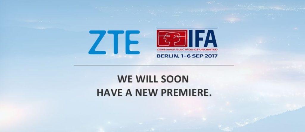 ZTE IFA 2017