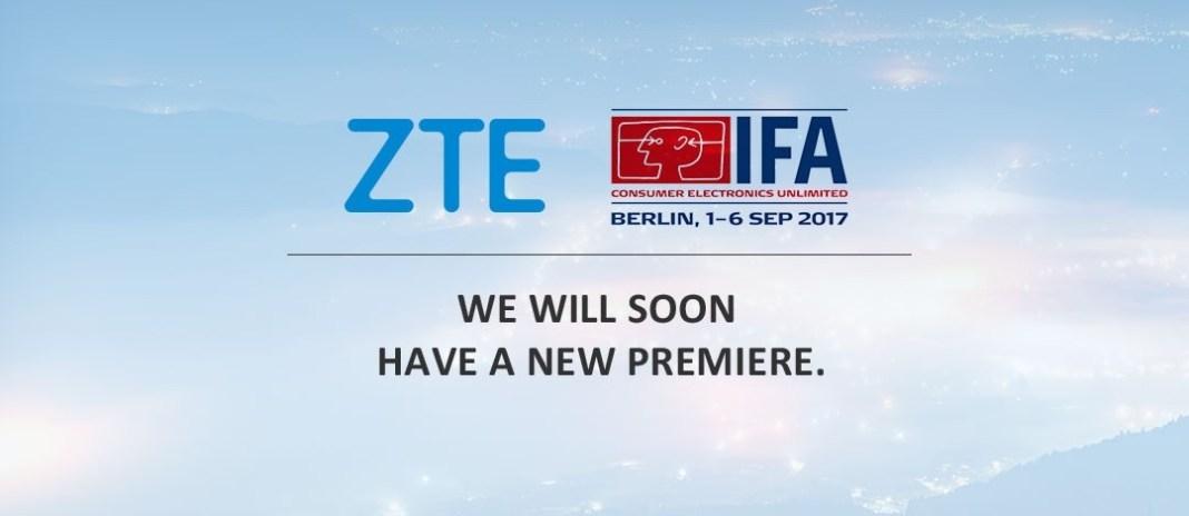 ZTE IFA 2017 à la une