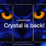 Umidigi Crystal: lancement en Septembre pour le Bezeless