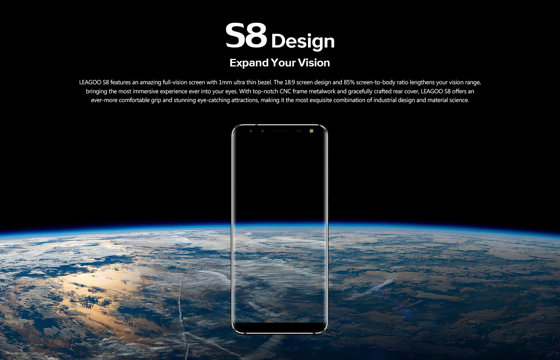 Leagoo S8 à la une