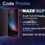Maze Alpha 6Go Ram avec code promo à €166.73