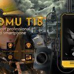 NOMU T18, un Smartphone pour les motards :)