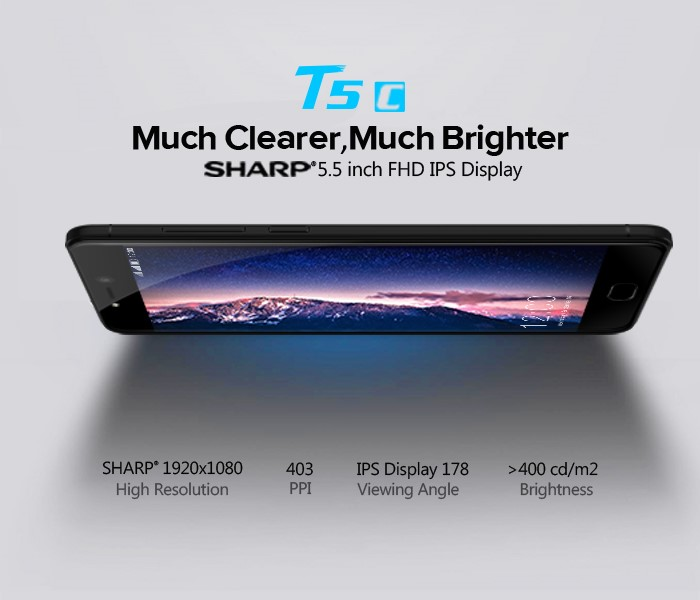 LEAGOO T5c Sharp