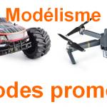 Codes promos RC: modélisme à petits prix
