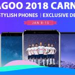 LEAGOO lance son shopping de carnaval jusqu' à 50% de rabais!
