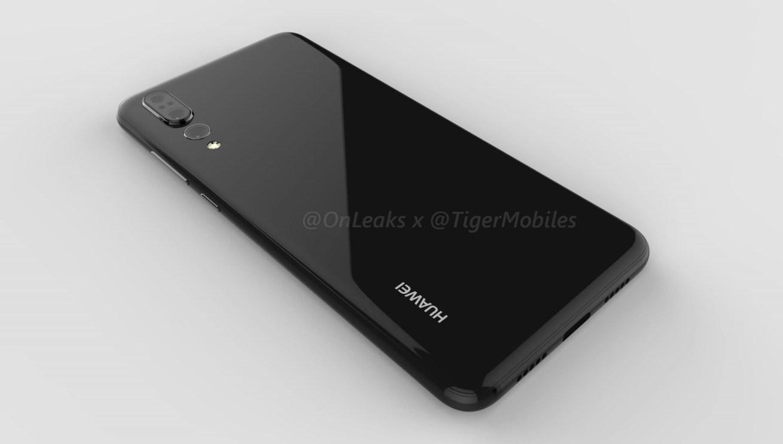 Huawei P20 plus triple camera Onleaks