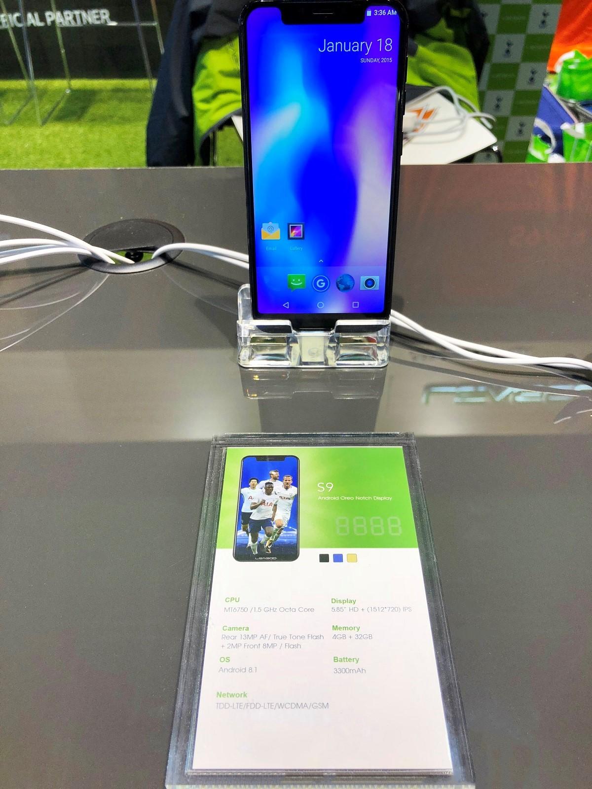Leagoo S9 à la une