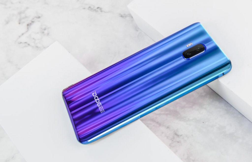 Doogee V Aurora Blue