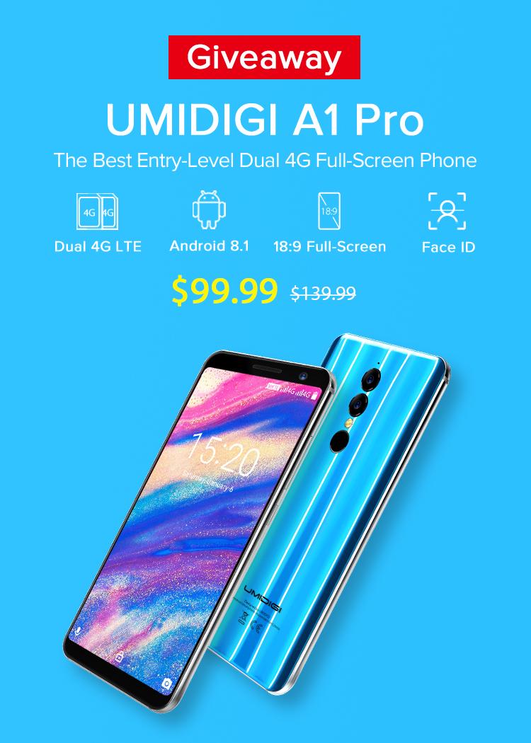 Umidigi A1 Pro giveaway