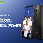 Leagoo Power 5 batterie 7000 mAh avec recharge sans fil.