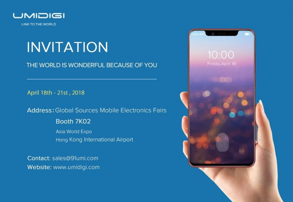 Umidigi Invitation