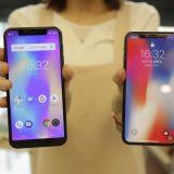 Leagoo S9 Vs Iphone X à la une