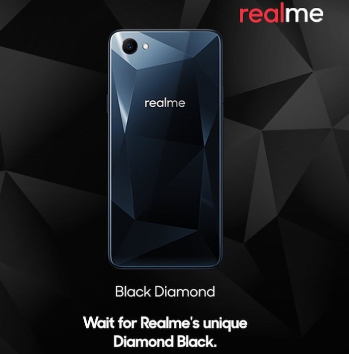 OPPO Realme 1 Black Diamond