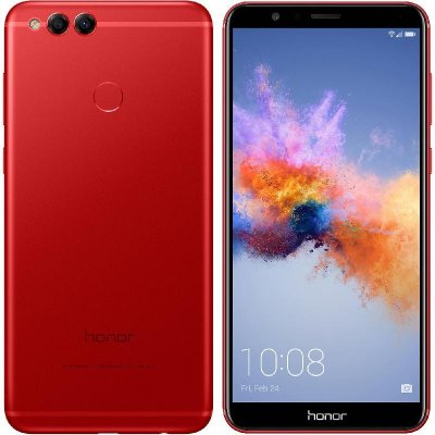 Huawei Honor 7X rouge