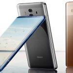 Huawei Mate 20 Pro avec un écran OLED flexible.