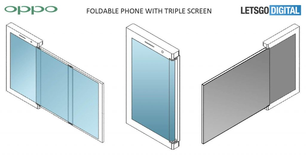 Oppo smartphone pliable 1