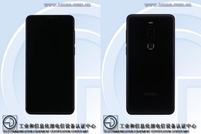 Meizu M8 Design Tenaa