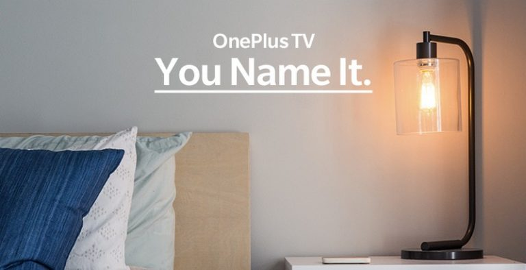 Oneplus tv you name it à la une