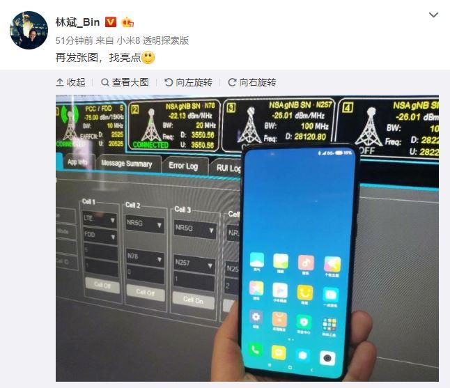 Xiaomi Mi Mix 3 avec 5g
