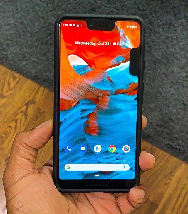Google Pixel 3 xl notch laterale