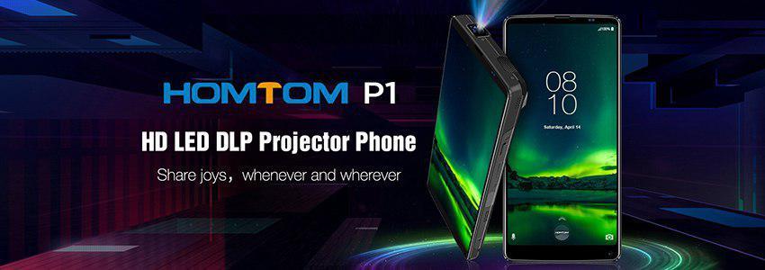 Homtom P1 smartphone projecteur 2