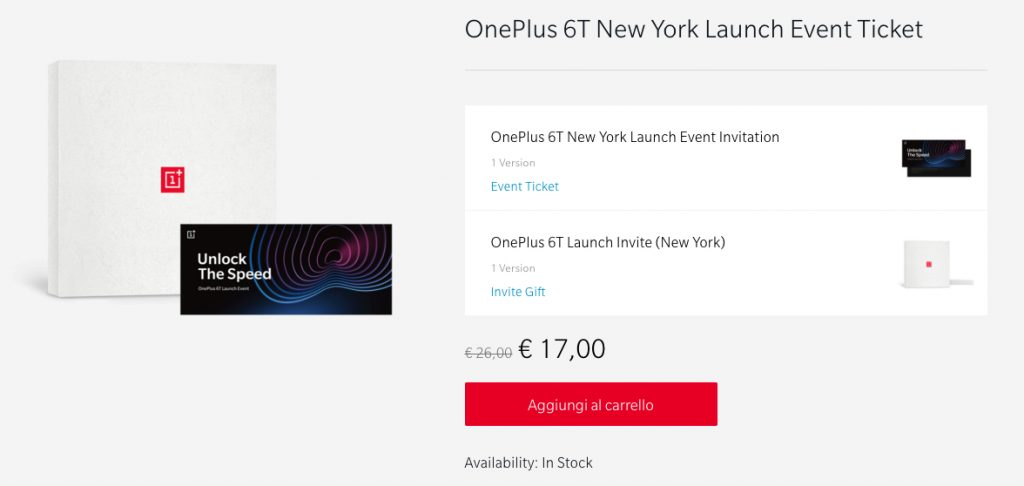 Oneplus 6t lancement